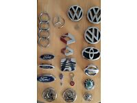 Collection of 21 Car Badges. Good used condition.