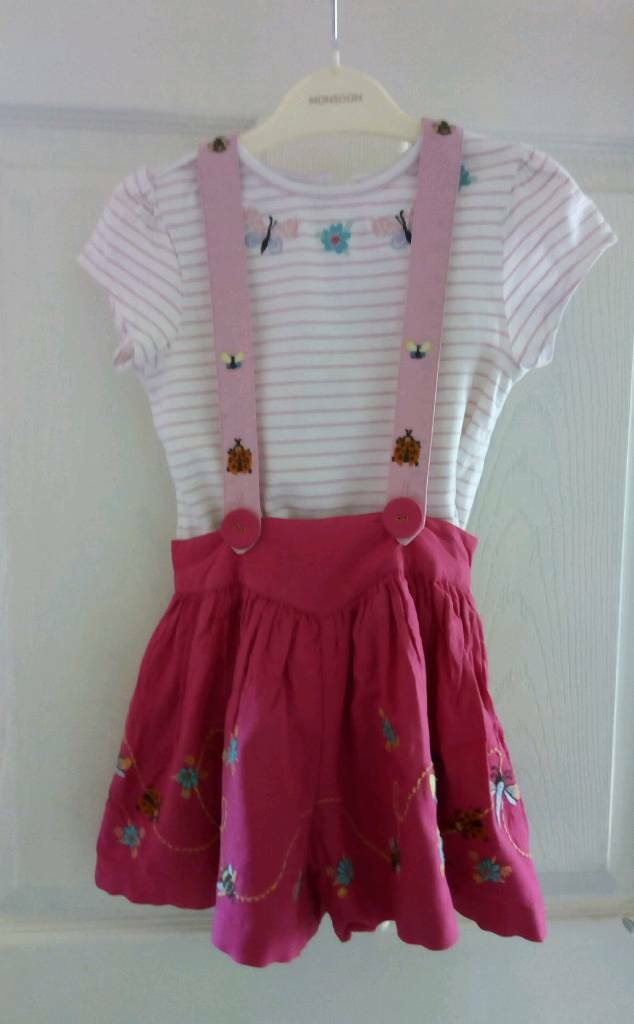 Girls Age 2-3 Short and T-shirt set from Monsoon