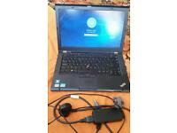 LENOVO Thinkpad t430s; Windows 10; intel core i5; 320GB HDD; 8GB RAM