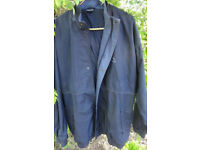 Mens Donnay Golf Jacket Blue Full Zip Size XXL Water Resistant
