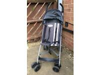 McLaren 'Triumph' Pushchair, Buggy with Rain Cover and original guidance booklet