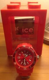 Ice Watch Unisex Resin Bracelet Red