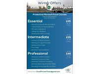 Microsoft Excel Private Tutor - Essential/ Intermediate/ Professional Level - Best Service