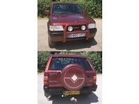 Vauxhall Frontera 2.5 TDS TransGlobe Limited Edition 1998
