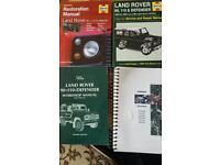 Landrover Defender workshop manuals