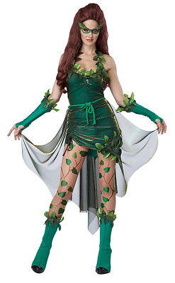 Lethal Beauty Poison Ivy Style Batman Adult Costume (Poison Ivy Women)
