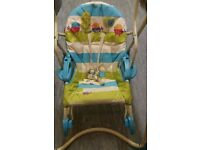 FISHER PRICE SMART STAGES 3-IN-1 SWING 'N ROCKER sale price
