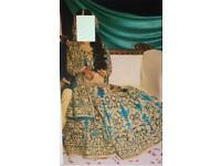 Asian wedding bridal Pakistani lengha dress