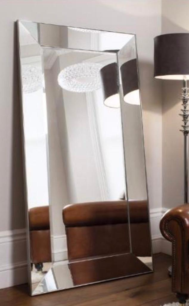 Large Floor To Ceiling Mirror Art Deco Style For Sale In Perfect