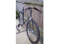 Italian Columbus Steel Triathlon Framed Single Speed Frugeri Bicycle