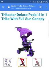 Purple toddler Trike