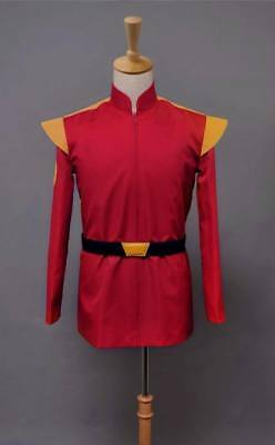 Sitcom Futurama Captain Zapp Brannigan Red Uniform Cosplay Costume Halloween - Futurama Costumes Halloween