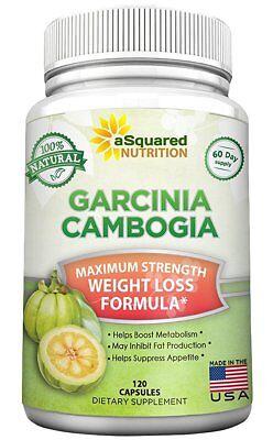 aSquared Nutrition Garcinia Cambogia Extract - 120 Capsules