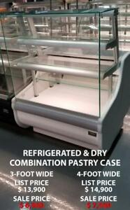 Pastry Case, Macaron Case, Bakery Display Case, Gelato Case, Chocolate Case, Refrigerated Display Case. Amazing Prices!!