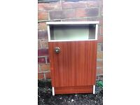 Sturdy 50s Style Cabinet REDUCED