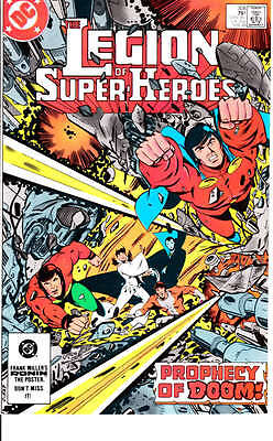 Legion of Super Heroes #308