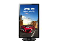 ASUS VG248QE 24 inch Widescreen LED Multimedia 3D Monitor - Black