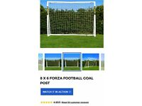 Forza football goal post. Never been used. Still in unopened box.