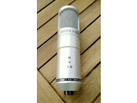 Red 5 RV15 Vacuum Tube microphone/mic (shure, rode, AKG, golden age)