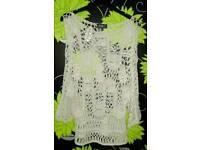 Women's crochet top size 10