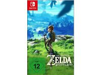 WANTED... NINTENDO SWITCH GAMES, PARTICULARLY LEGEND OF ZELDA.. CASH WAITING