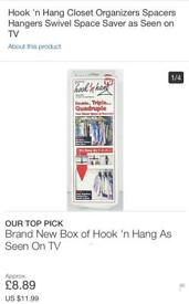 ** BRAND NEW HOOK AND HANGS**