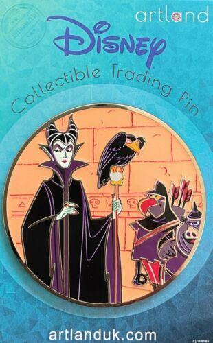 Disney Artland MALEFICENT LE 200 Pin SLEEPING BEAUTY Diablo & Goons DAVE PERILLO