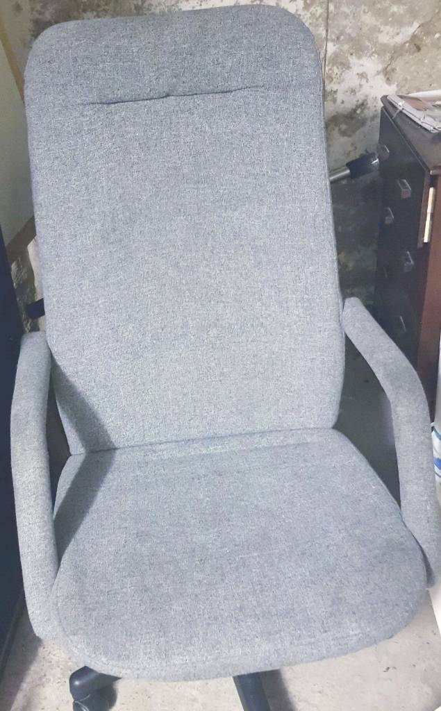 Grey office chair for sale