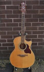 Crafter GAE8 Electro Acoustic Guitar + gig bag