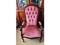 Vintage Armchair/fireside chair