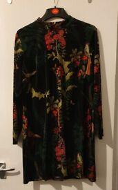 Velvet dress plus size
