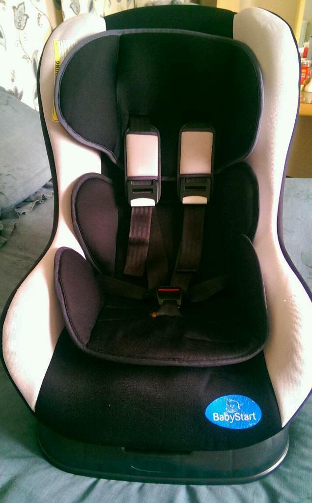 babystart reclining car seat 0 18kg in wakefield west yorkshire gumtree. Black Bedroom Furniture Sets. Home Design Ideas