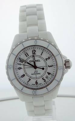 Chanel J12 White Ceramic 38mm H0970
