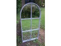 Large 1950s Distressed Church Mirror REDUCED FOR BANK HOLIDAY WEEKEND