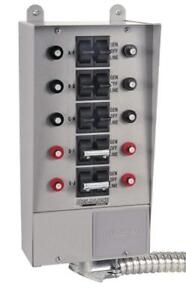 NEW Reliance Controls Corporation 31410B Pro/Tran 10-Circuit Indoor Transfer Switch