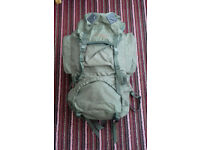 Wynnster Ecuador 85 litre hiking / camping rucksack good condition
