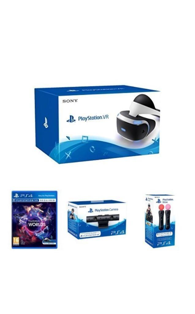 PSVR + Move Controllers + PS Camera PS4 Game