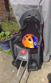 Reclining bike seat