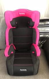 Harmony car seat new