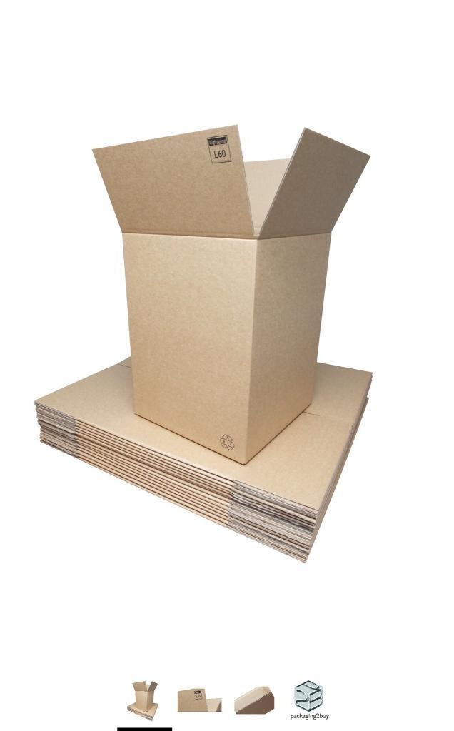 Lighting Double Wall Cardboard Boxes - Large