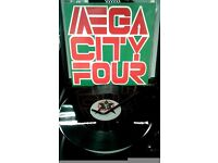 Mega City Four ‎– The Singles, VG, compilation, released on Vinyl Solution, Cat No EFA ML 17118.
