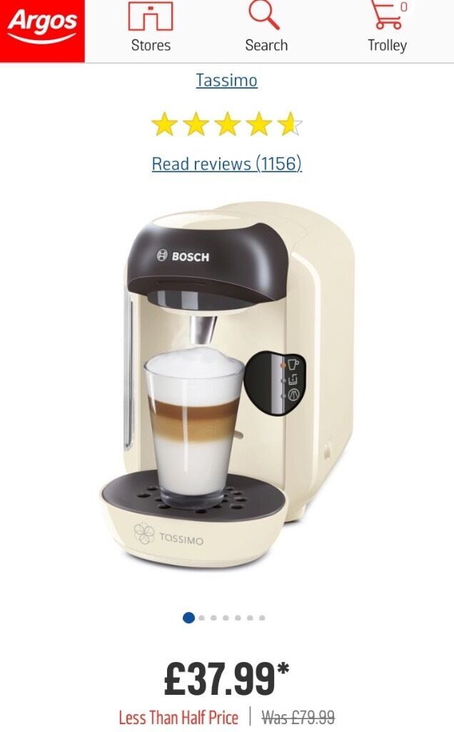 TASSIMO COFFEE MACHINE BRAND NEW IN SEALED BOX