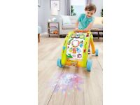 Little Tikes First Steps Walker 3-in-1 Activity Sit at Play to Table to Walker