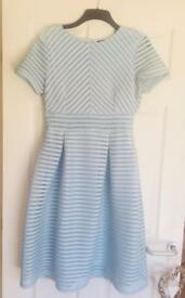 Ladies baby blue dress