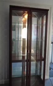 MODERN GLASS DISPLAY CABINET