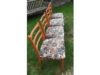 1960s Schreiber Mid Century Chairs