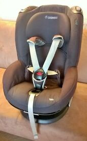Maxi Cosi Tobi - Child Car Seat - black + cover, great condition