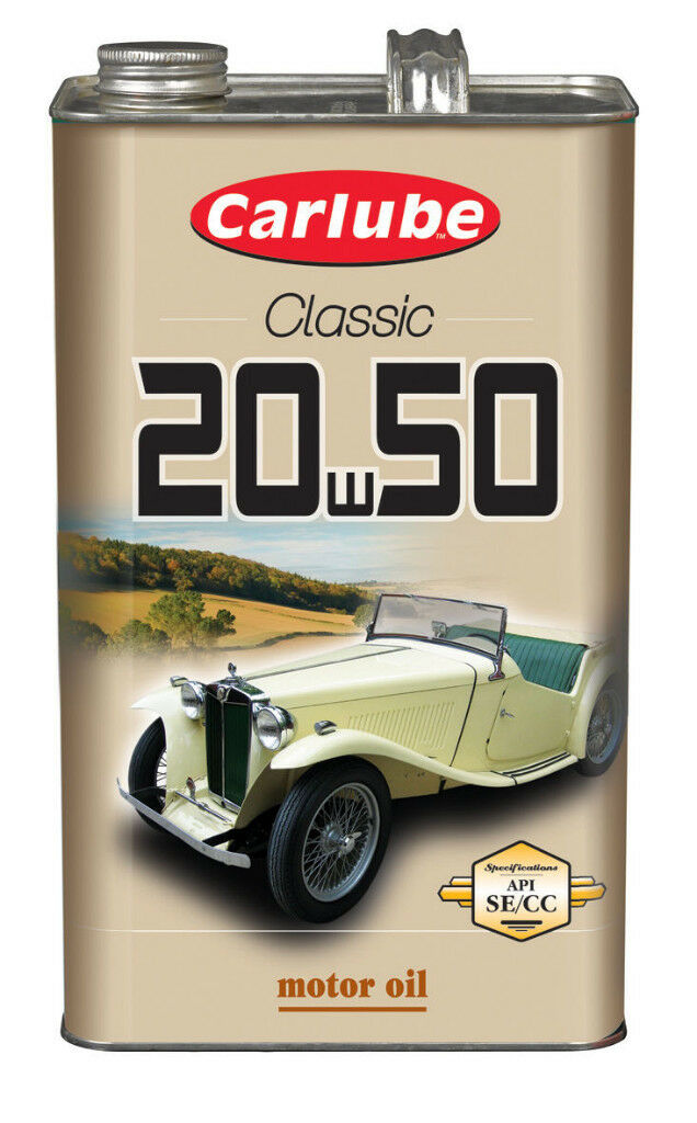 Carlube Classic 20w50 engine oil