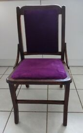 Small Edwardian Nursing Chair suitable for sitting or soft toy display