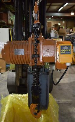 Accolift 2 Ton 20ft Electric Chain Hoist 2130050-vfd-460 Nice